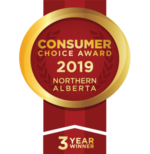 Consumer Choice Awards Logo 3 Years Running